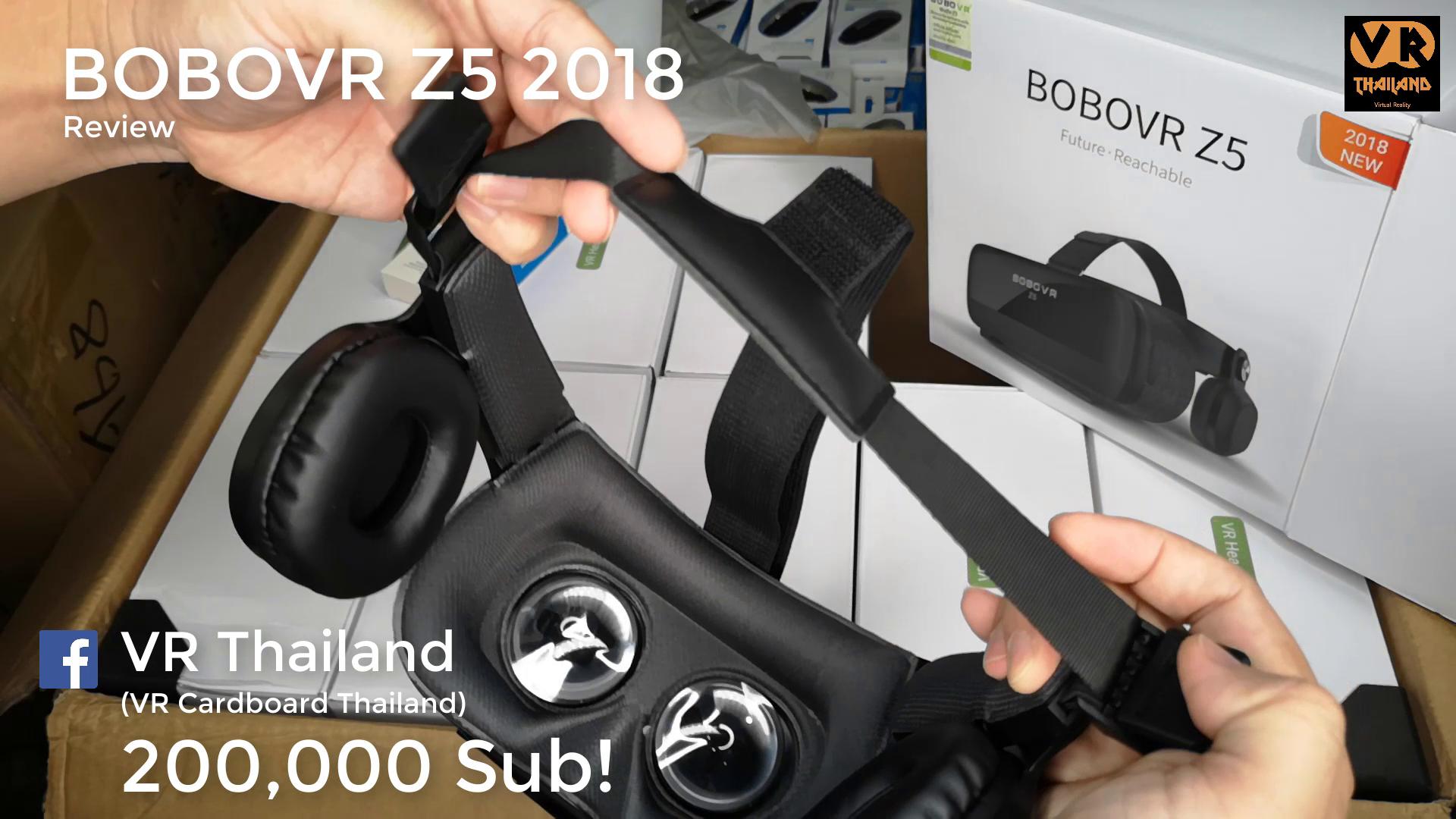 แว่น VR เล่นเกม,ดูหนัง BOBOVR Z5 2018