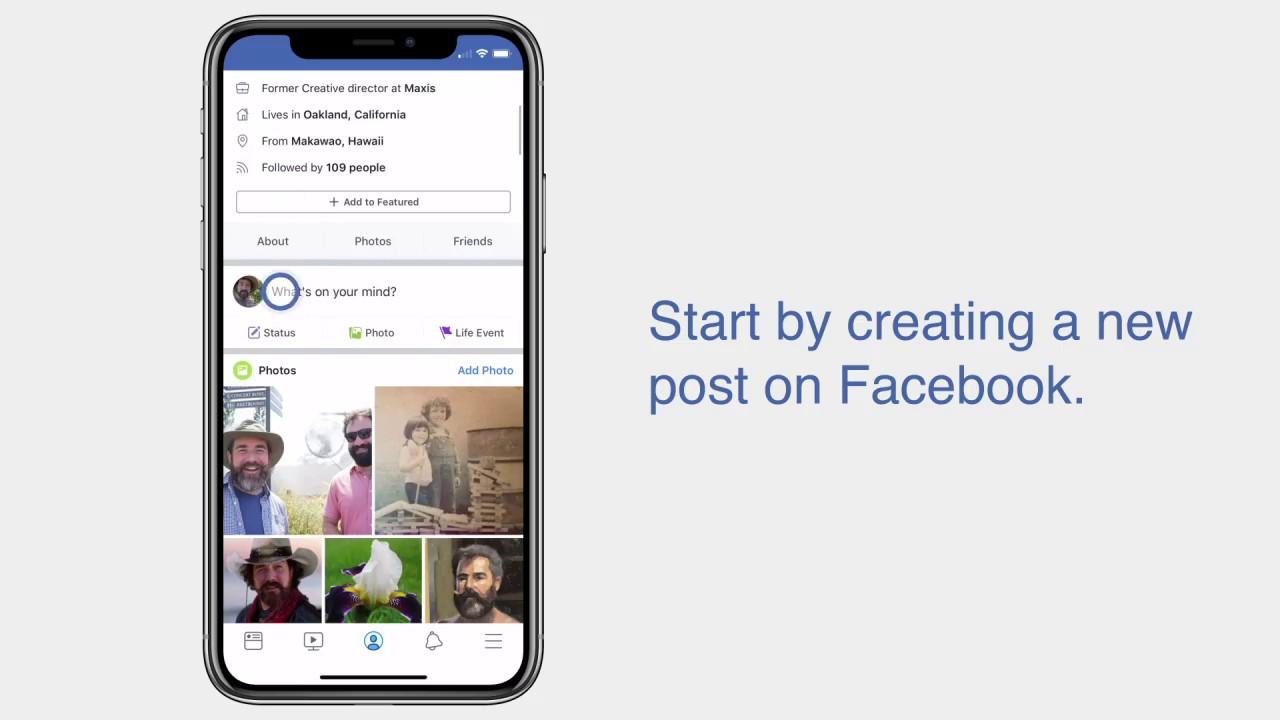 Facebook 3D, Facebook 3 มิติ