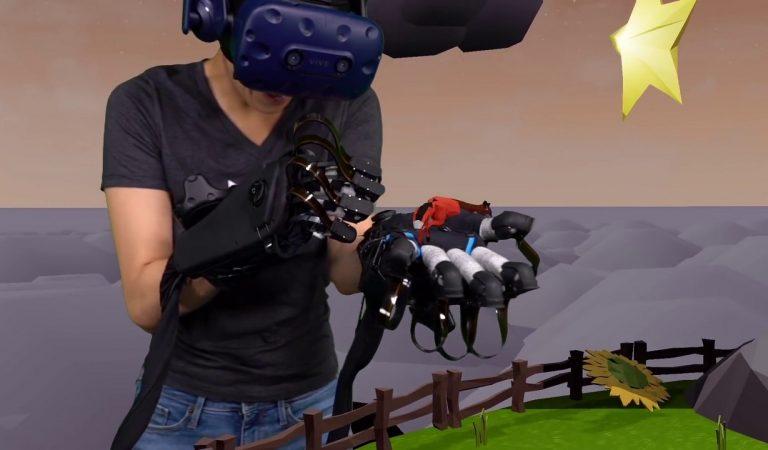 HaptX ถุงมือ VR รับรู้การสัมผัสวัตถุเสมือนได้ถึงปลายนิ้ว