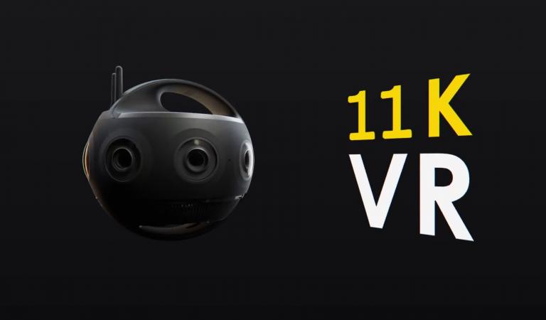 กล้อง Insta360 TITAN ความละเอียดสูง 11K VR