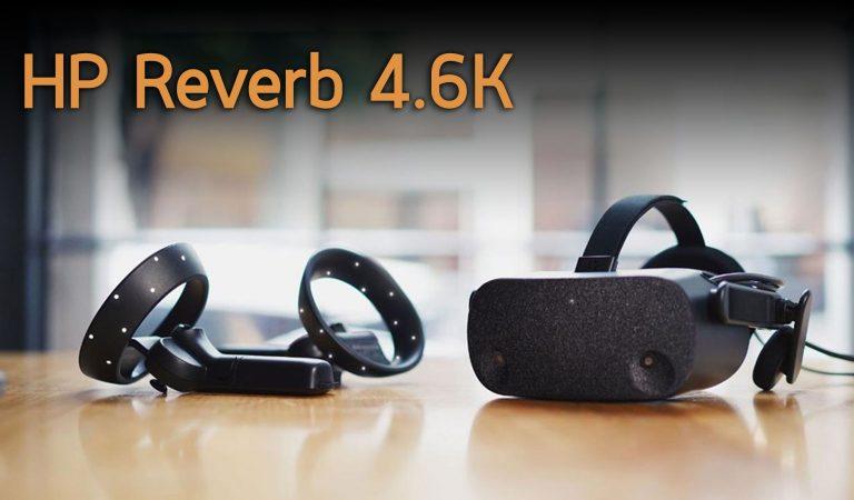 เปิดตัว HP Reverb แว่น VR PC ความละเอียด 4.6K ต่อตาหนึ่งข้าง