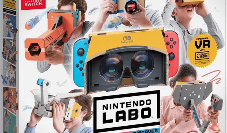เปิดตัว Labo VR Kit สำหรับ Nintendo Switch