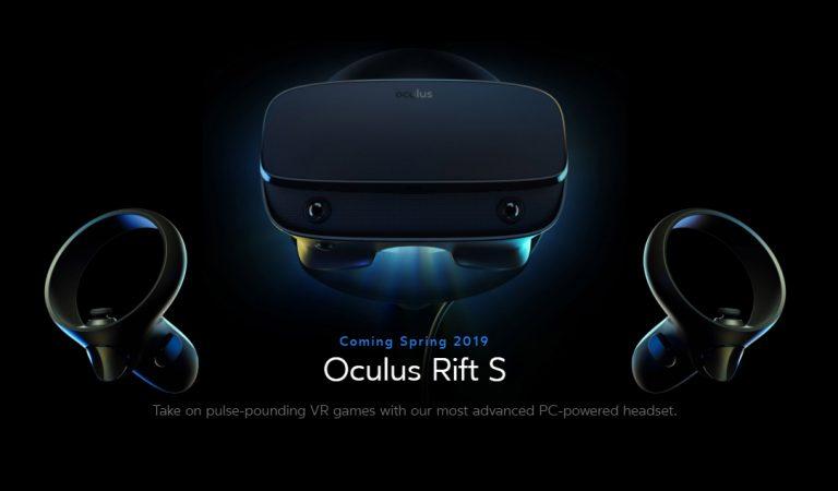 เปิดตัว! Oculus Rift S แว่น VR PC เรือธงปี 2019