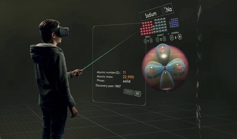 เรียนวิชาเคมีในโลก VR แบบเด็กอเมริกา (ฟรีดาวน์โหลด)