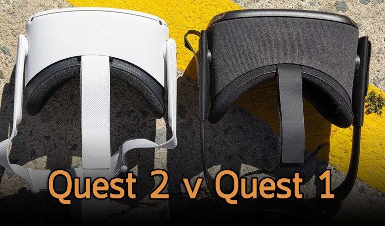 เปรียบเทียบสเปค Oculus Quest 2 กับ Quest